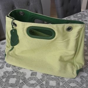 Large green Havaianas tote